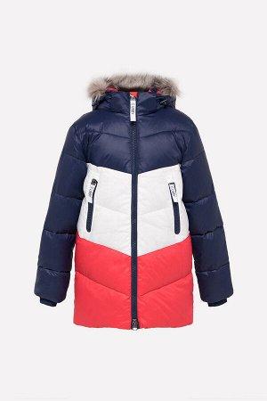34042/1 Куртка/синий, белый, красный