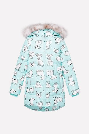 Куртка(Осень-Зима)+girls (минт, собачки)