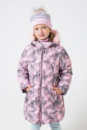 Куртка(Осень-Зима)+girls (розовый)