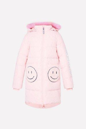 Пальто(Осень-Зима)+girls (розовый)