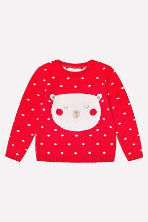 Джемпер(Осень-Зима)+girls (красный)
