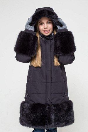 Пальто(Осень-Зима)+girls (графит)