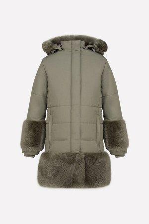 Пальто(Осень-Зима)+girls (хаки)