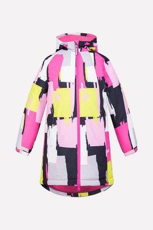 """Пальто Сезон: Осень-Зима Зимнее пальто для девочки, на подкладке с утеплителем SEE 250г/м2. Мембранная ткань 5000/5000 с тефлоновым покрытием обладает водоотталкивающими, грязеотталкивающими и """"дышащ"""