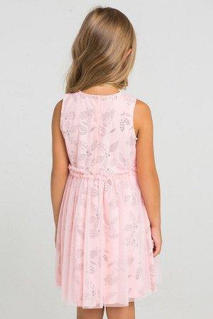 Платье(Весна-Лето)+girls (светлый лосось, летние цветы)