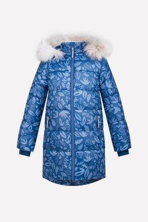 Пальто Сезон: Осень-Зима Стеганное зимнее пальто для девочки, на подкладке с утеплителем SEE 250г/м2. Мембранная ткань с тефлоновым покрытием обладает водоотталкивающими и грязеотталкивающими свойств