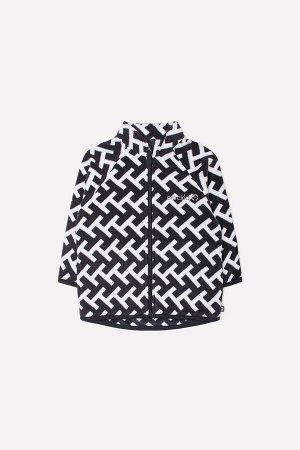 Куртка(Осень-Зима)+girls (белый, черный, геометрия)