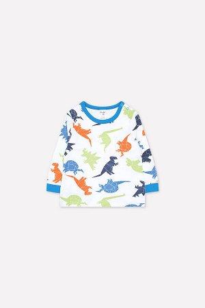 Джемпер(Осень-Зима)+baby (динозавры на белом)