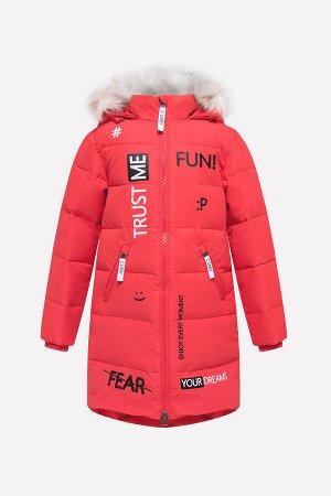 Пальто(Осень-Зима)+girls (красный)