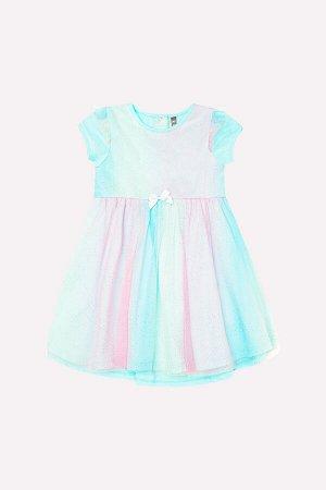 Платье(Весна-Лето)+girls (аквамарин1 к209)