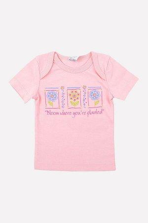 Фуфайка()+baby (розовый)