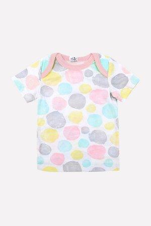 Фуфайка(Весна-Лето)+baby (цветные круги на сахаре)