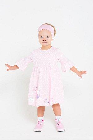 5508 платье/волна на розовом облаке к209