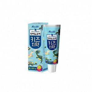Детская зубная паста с ярким вкусом винограда «Kizcare» (без фтора) 80 г / 40