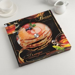 Подставка для торта вращающаяся «Десерт», d=28 см