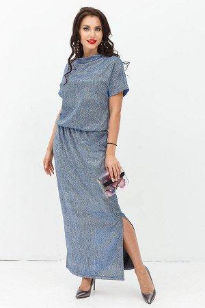 Платье Виктория (звездный блеск) П1141-11