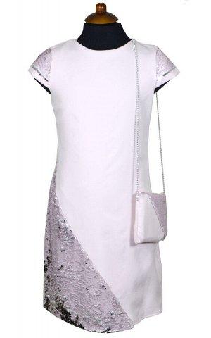 Платье Wecan 19025 Светло-розовый *
