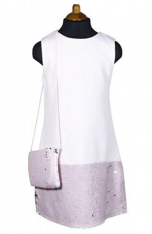Платье Wecan 19256 Светло-розовый *