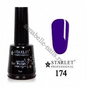 Гель-лак Starlet Professional №174 «Королевский синий»