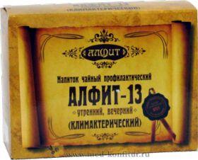 """Фитосбор """"Алфит-13"""" Климактерический, 60 брикетов"""