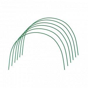 Комплект дуг для парника, металл в кембрике 2 м, d = 10 мм, набор 6 шт.