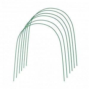 Комплект дуг для парника, металл в кембрике 3 м, d = 10 мм, набор 6 шт.