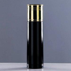 """Термос """"Патрон"""", 500 мл, соxраняет тепло 12 ч, чёрный, 7x25,5 см"""