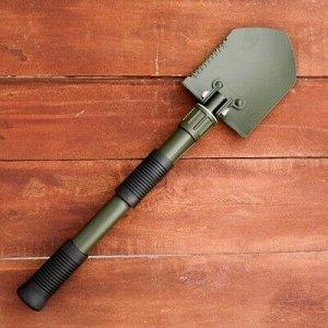 Лопата складная 41 см сталь 50, чехол