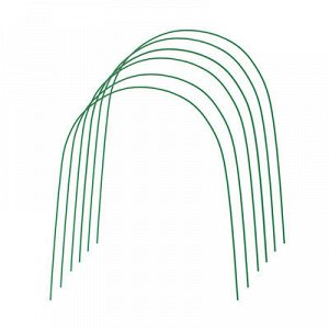 Дуга парниковая, металл в кембрике, 3 м, d=10 мм, набор 6 шт