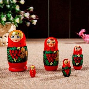 "Матрёшка ""Рябинка"", 5 кукольная"