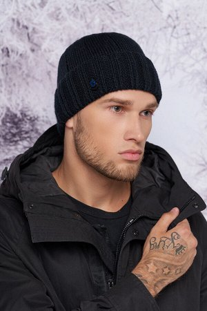Мужская шапка «Штефан» (темно-синий)