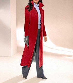 Пальто, красный