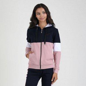 """Куртка Куртка 3-х цветная с капюшоном, на молнии (вышивка """"корона"""" на груди) .  Футер LUX -  износостойкий, идентичен по своим свойствам с тканью Футер. Наличие в составе хлопка обеспечивает хорошую в"""