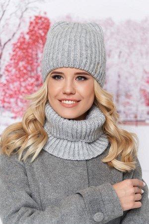 Комплект «Мия» (шапка и шарф-хомут)