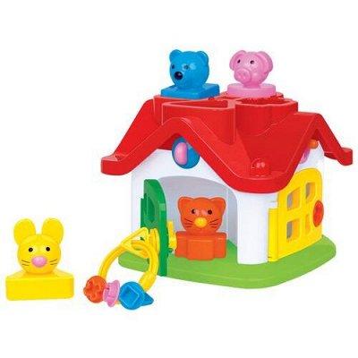 Полесье. Любимые игрушки из пластика. Успеем до повышения — Логика для малышей — Развивающие игрушки