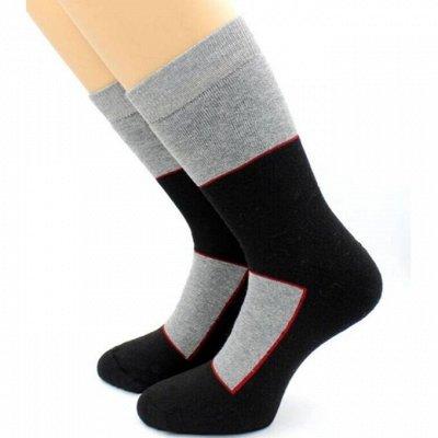 Теплые носочки Hobby Line! Яркие принты! Ангора, махра — Термоноски мужские — Термобелье