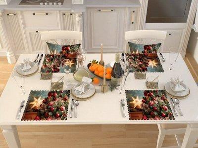 ФОТО-идеи для дома!😍 Шторы, тюль, скатерти, коврики, пледы! — Салфетки Новогодняя коллекция — Салфетки для сервировки