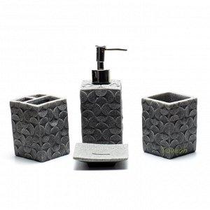 Набор аксессуаров для ванной комнаты из искусственного камня 1-14