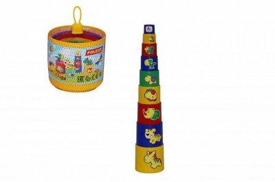ЗелКрок-610. Поступление 2 контейнеров с игрушками! — Пирамидки — Развивающие игрушки