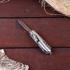 Нож швейцарский 11в1 с фонариком