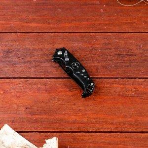 Нож перочинный Мастер К, лезвие со скосом 6.5 см, рукоять со звездой 15.5 см