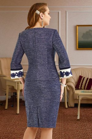Женский костюм-двойка жакет и юбка