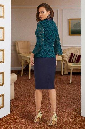 Женский комплект-двойка жакет и юбка
