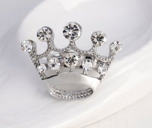 Брошь-мини серебро