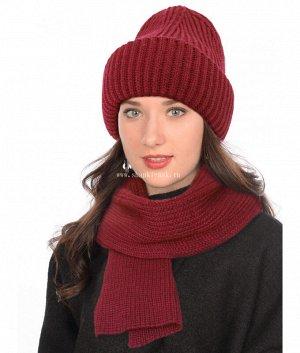 479-КФ-ТД флис (56-58) (колпак+шарф) Комплект