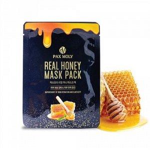 Тканевая маска с Мёдом!