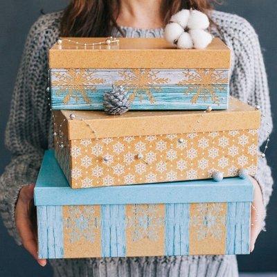 Большой ассортимент товаров для всей семьи — Новый год: упаковка и декор — Новый год