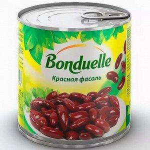 Bonduelle фасоль красная в с/с ж/б 212 г