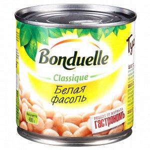 Bonduelle фасоль белая в с/с ж/б 400 г