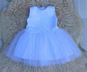 Платье «Бусинка» БЕЛЫЙ